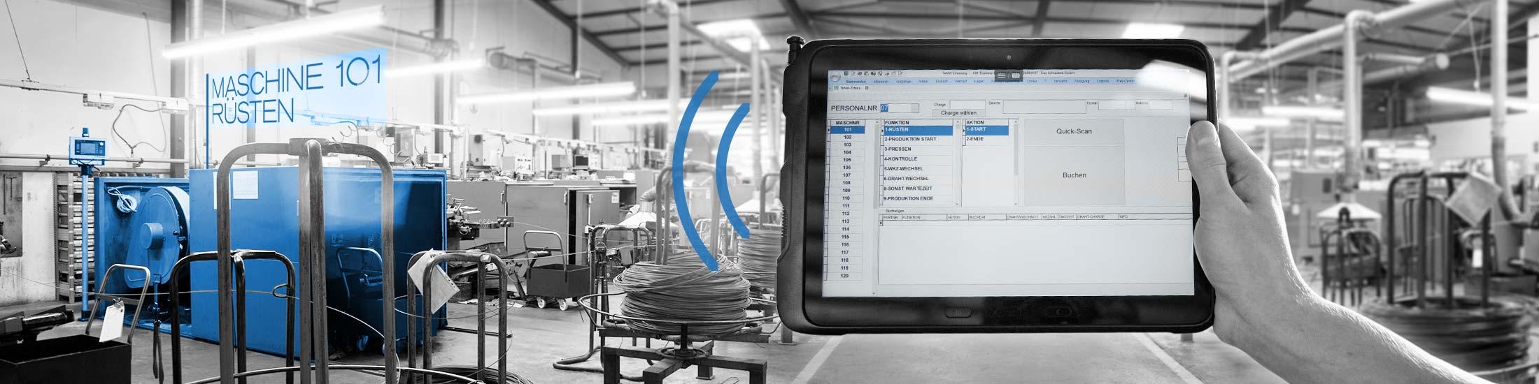 Smart Factory – Digitalisierung in unserer Schrauben Produktion