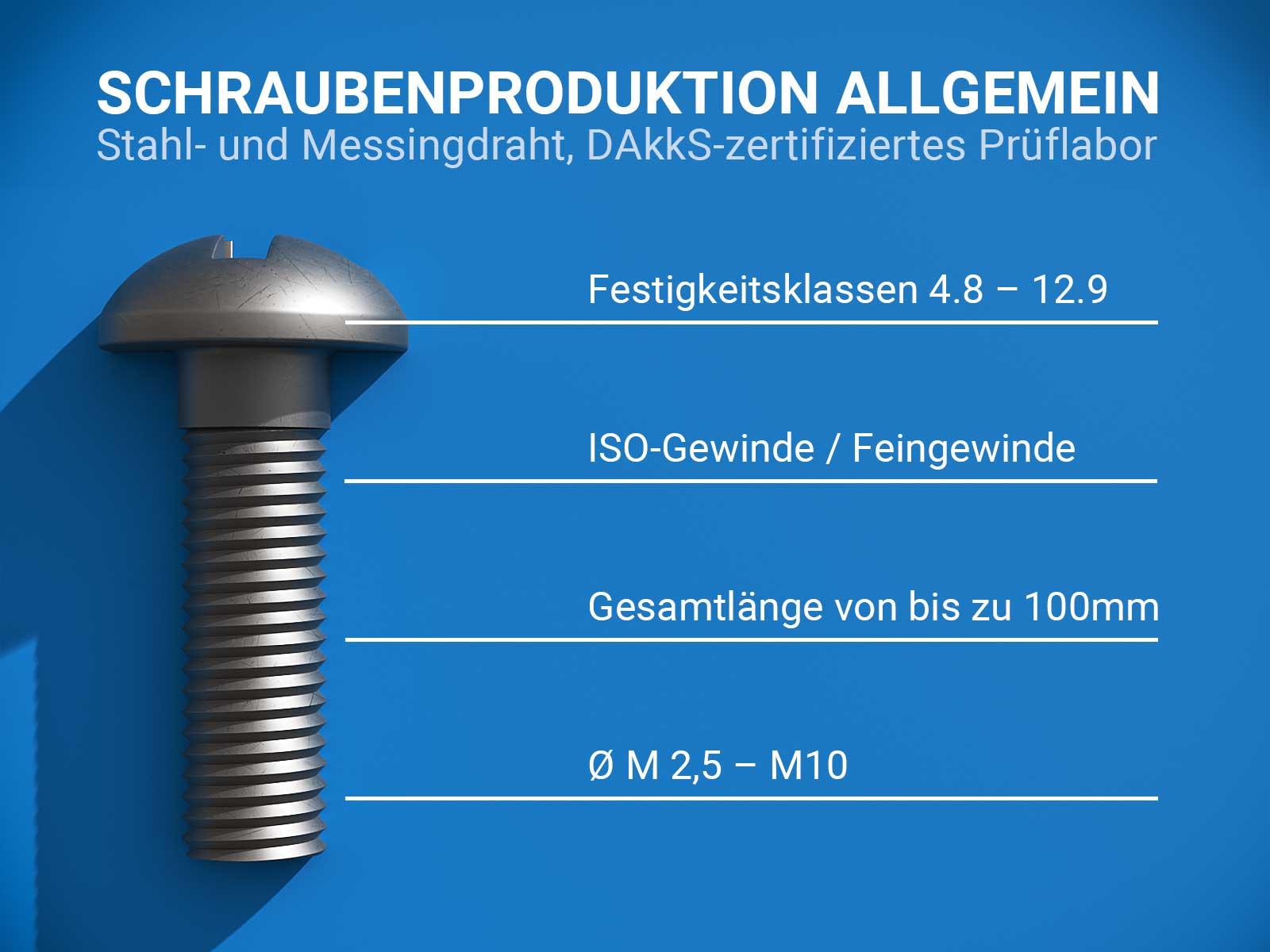 Schrauben Hersteller • Frey Schrauben GmbH
