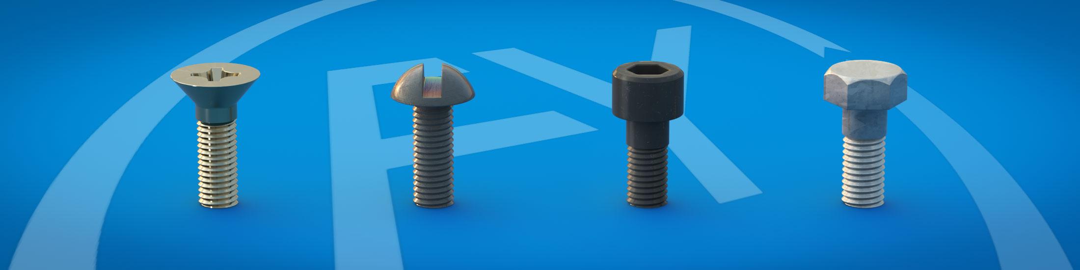 Normschrauben • Sonderschrauben • Schrauben nach Zeichnung • Schrauben Beschichtung • Schrauben Veredelung • Frey Schrauben GmbH